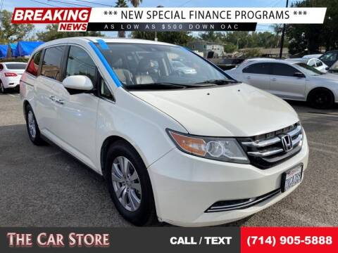 2016 Honda Odyssey for sale at The Car Store in Santa Ana CA