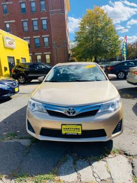 2012 Toyota Camry for sale at Hartford Auto Center in Hartford CT