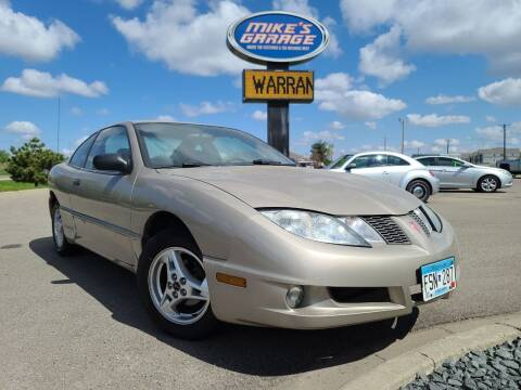 2004 Pontiac Sunfire for sale at Monkey Motors in Faribault MN