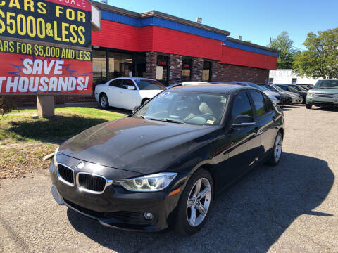 2014 BMW 3 Series for sale at HW Auto Wholesale in Norfolk VA