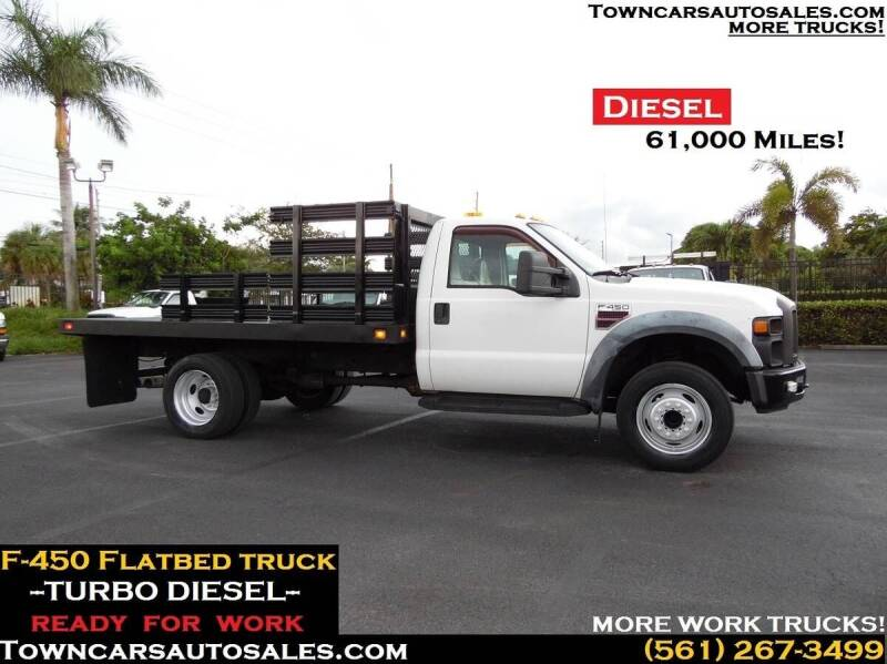 2008 Ford F-450 for sale at Town Cars Auto Sales in West Palm Beach FL