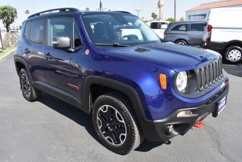 2017 Jeep Renegade for sale at DIAMOND VALLEY HONDA in Hemet CA