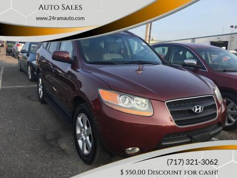 2008 Hyundai Santa Fe for sale at Ram Auto Sales in Gettysburg PA