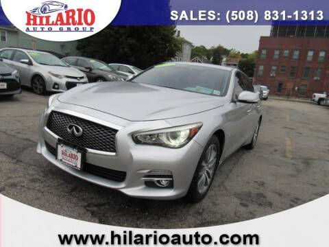2015 Infiniti Q50 for sale at Hilario's Auto Sales in Worcester MA