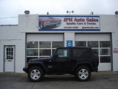 2011 Jeep Wrangler for sale at JPH Auto Sales in Eastlake OH