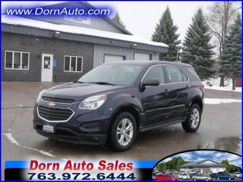 2016 Chevrolet Equinox for sale at Jim Dorn Auto Sales in Delano MN