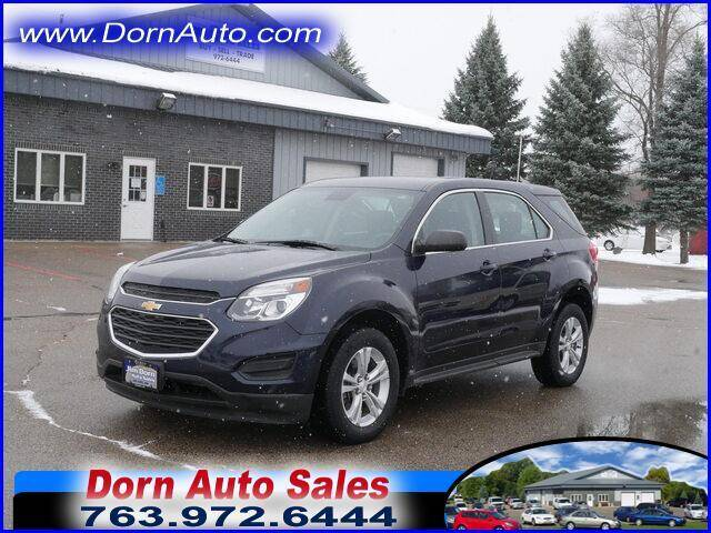 2016 Chevrolet Equinox for sale at Jim Dorn Auto Sales in Delano MN