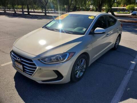 2017 Hyundai Elantra for sale at ALL CREDIT AUTO SALES in San Jose CA