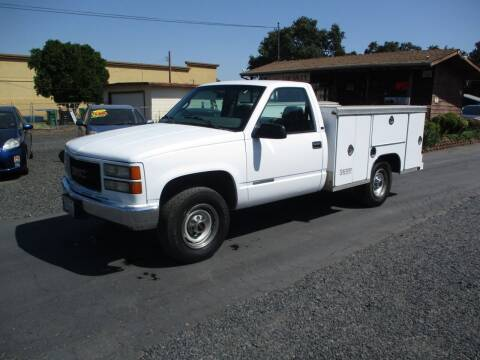 1999 GMC Sierra 3500 for sale at Manzanita Car Sales in Gridley CA