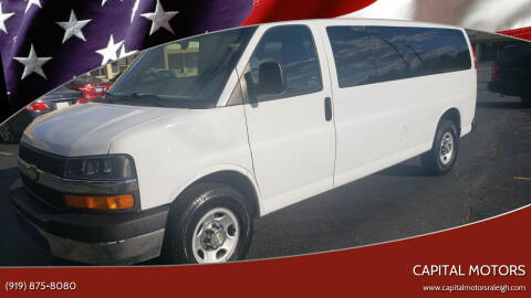 2016 Chevrolet Express Passenger for sale at Capital Motors in Raleigh NC