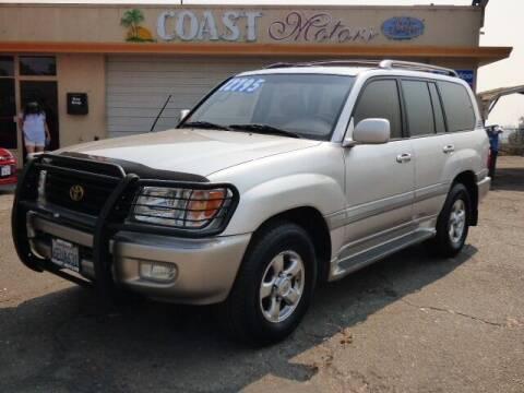 2001 Toyota Land Cruiser for sale at Coast Motors in Arroyo Grande CA