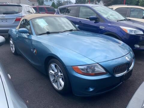 2003 BMW Z4 for sale at Park Avenue Auto Lot Inc in Linden NJ