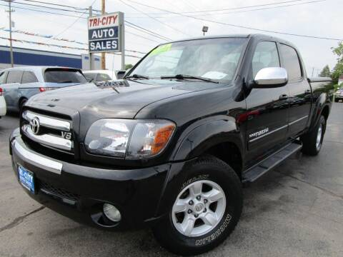 2005 Toyota Tundra for sale at TRI CITY AUTO SALES LLC in Menasha WI