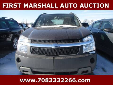 2007 Chevrolet Equinox for sale at First Marshall Auto Auction in Harvey IL