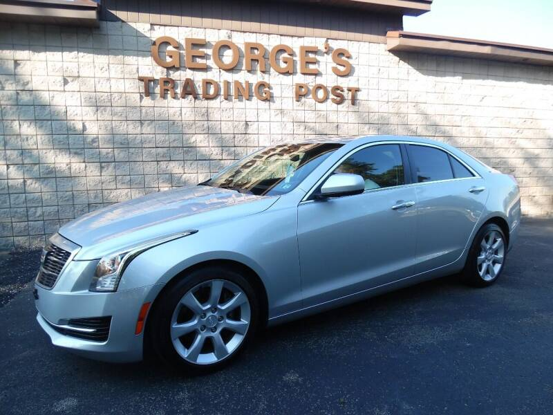 2015 Cadillac ATS for sale at GEORGE'S TRADING POST in Scottdale PA