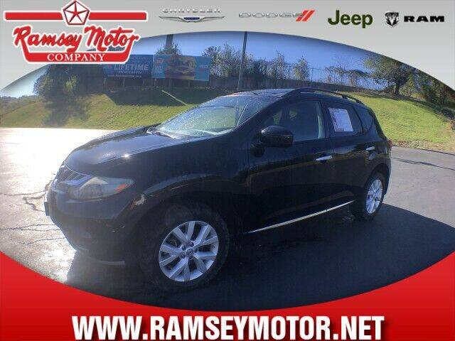 2012 Nissan Murano for sale at RAMSEY MOTOR CO in Harrison AR