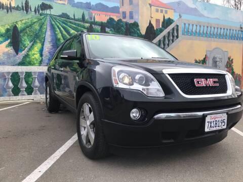 2010 GMC Acadia for sale at Star One Motors in Hayward CA