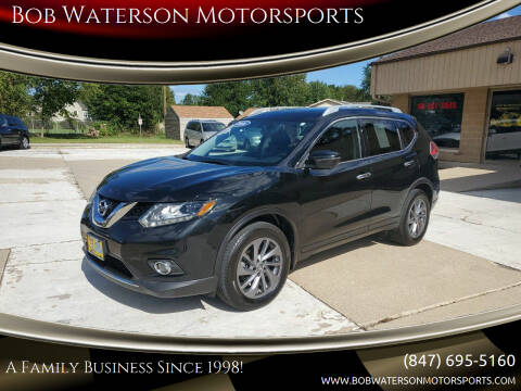 2016 Nissan Rogue for sale at Bob Waterson Motorsports in South Elgin IL