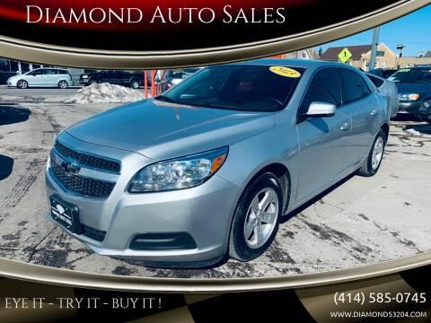 2013 Chevrolet Malibu for sale at Diamond Auto Sales in Milwaukee WI
