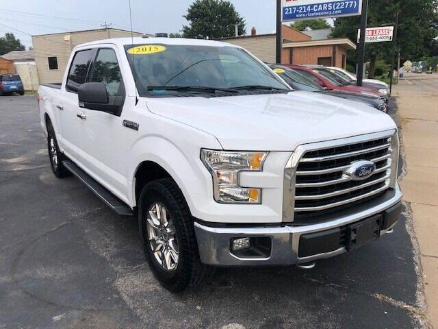 2015 Ford F-150 for sale at RT Auto Center in Quincy IL