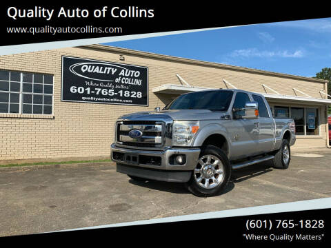 2011 Ford F-350 Super Duty for sale at Quality Auto of Collins in Collins MS