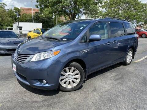 2016 Toyota Sienna for sale at Sonias Auto Sales in Worcester MA