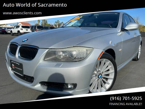 2009 BMW 3 Series for sale at Auto World of Sacramento Stockton Blvd in Sacramento CA