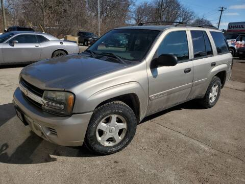 2002 Chevrolet TrailBlazer for sale at JDL Automotive and Detailing in Plymouth WI