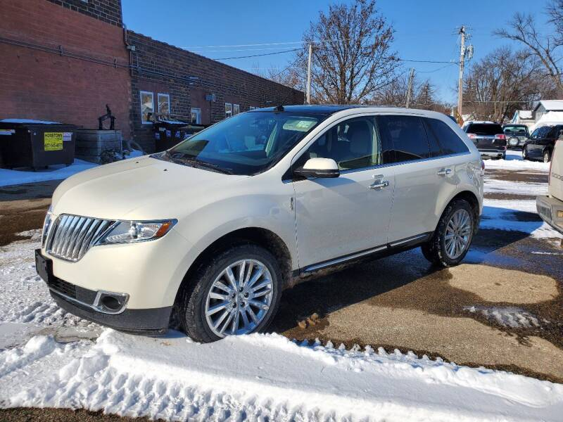 2012 Lincoln MKX for sale at Vossen Auto LLC in Blue Earth MN