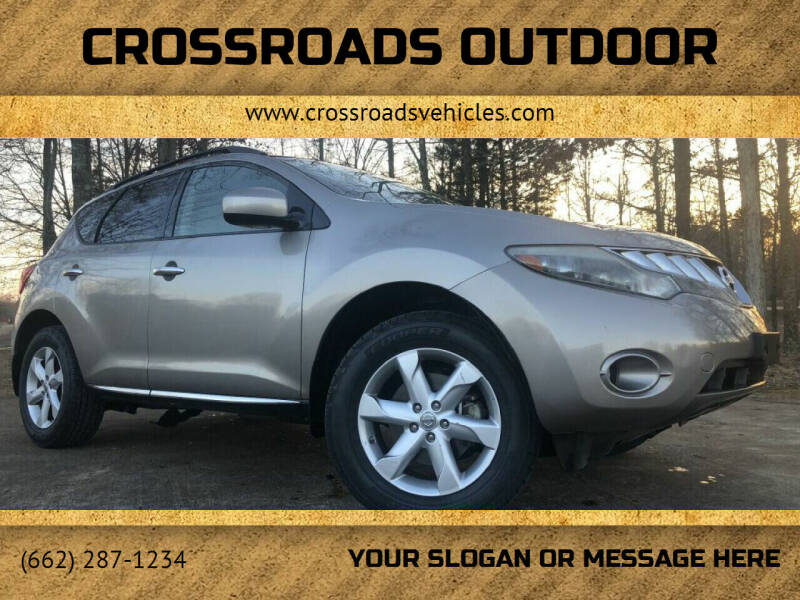 2010 Nissan Murano for sale at Crossroads Outdoor in Corinth MS