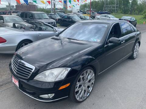 2008 Mercedes-Benz S-Class for sale at Trocci's Auto Sales in West Pittsburg PA