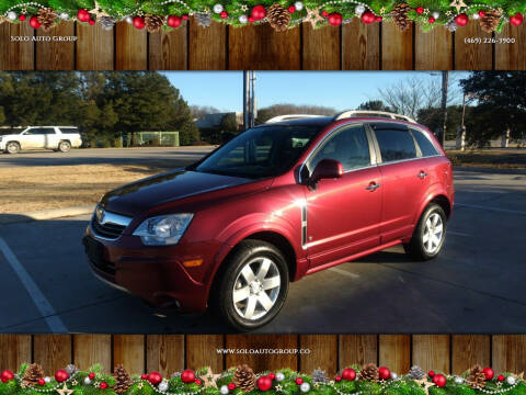 2008 Saturn Vue for sale at Solo Auto Group in Mckinney TX