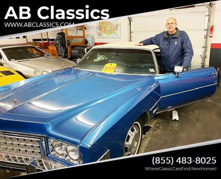 1973 Cadillac Eldorado for sale at AB Classics in Malone NY