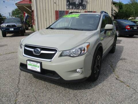 2013 Subaru XV Crosstrek for sale at Roland's Motor Sales in Alfred ME