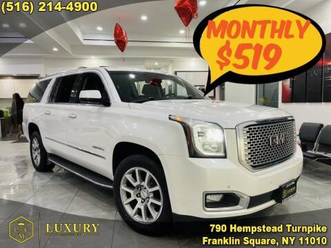2016 GMC Yukon XL for sale at LUXURY MOTOR CLUB in Franklin Square NY