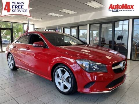 2018 Mercedes-Benz CLA for sale at Auto Max in Hollywood FL