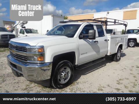 2015 Chevrolet Silverado 2500HD for sale at Miami Truck Center in Hialeah FL