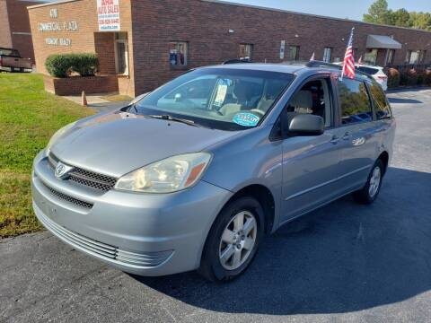2004 Toyota Sienna for sale at ARA Auto Sales in Winston-Salem NC