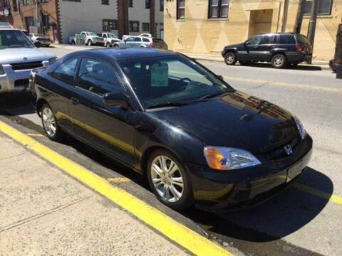 2002 Honda Civic for sale at Drive Deleon in Yonkers NY
