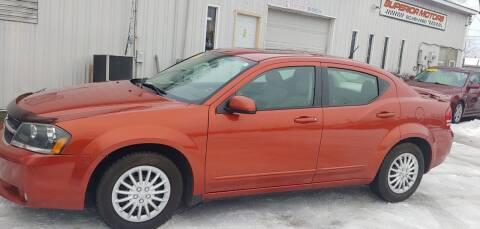 2008 Dodge Avenger for sale at Superior Motors in Mount Morris MI