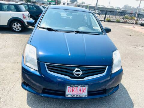 2012 Nissan Sentra for sale at Dream Motors in Sacramento CA