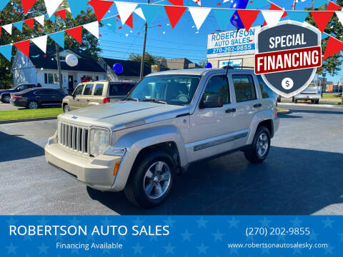 2009 Jeep Liberty for sale at ROBERTSON AUTO SALES in Bowling Green KY