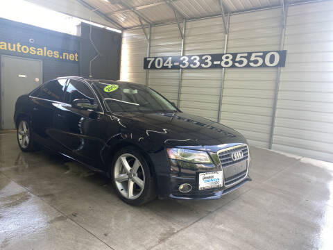 2012 Audi A4 for sale at Uptown Auto Sales in Charlotte NC