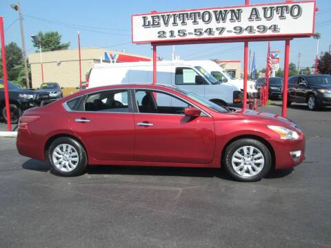 2013 Nissan Altima for sale at Levittown Auto in Levittown PA