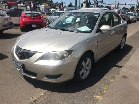 2004 Mazda MAZDA3 for sale at Chuck Wise Motors in Portland OR