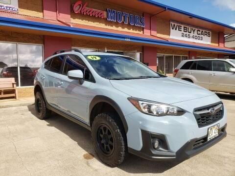 2019 Subaru Crosstrek for sale at Ohana Motors in Lihue HI