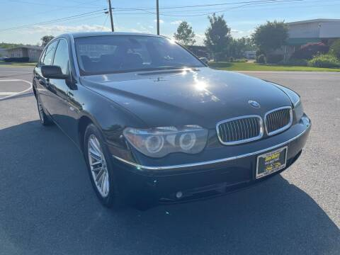 2004 BMW 7 Series for sale at Shell Motors in Chantilly VA