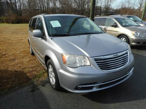 2013 Chrysler Town and Country for sale at Auto America - Monroe in Monroe NC