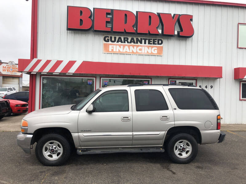 2006 GMC Yukon for sale at Berry's Cherries Auto in Billings MT