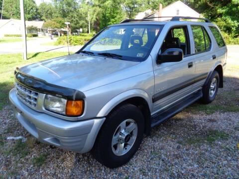 1999 Isuzu Rodeo for sale at Liberty Motors in Chesapeake VA